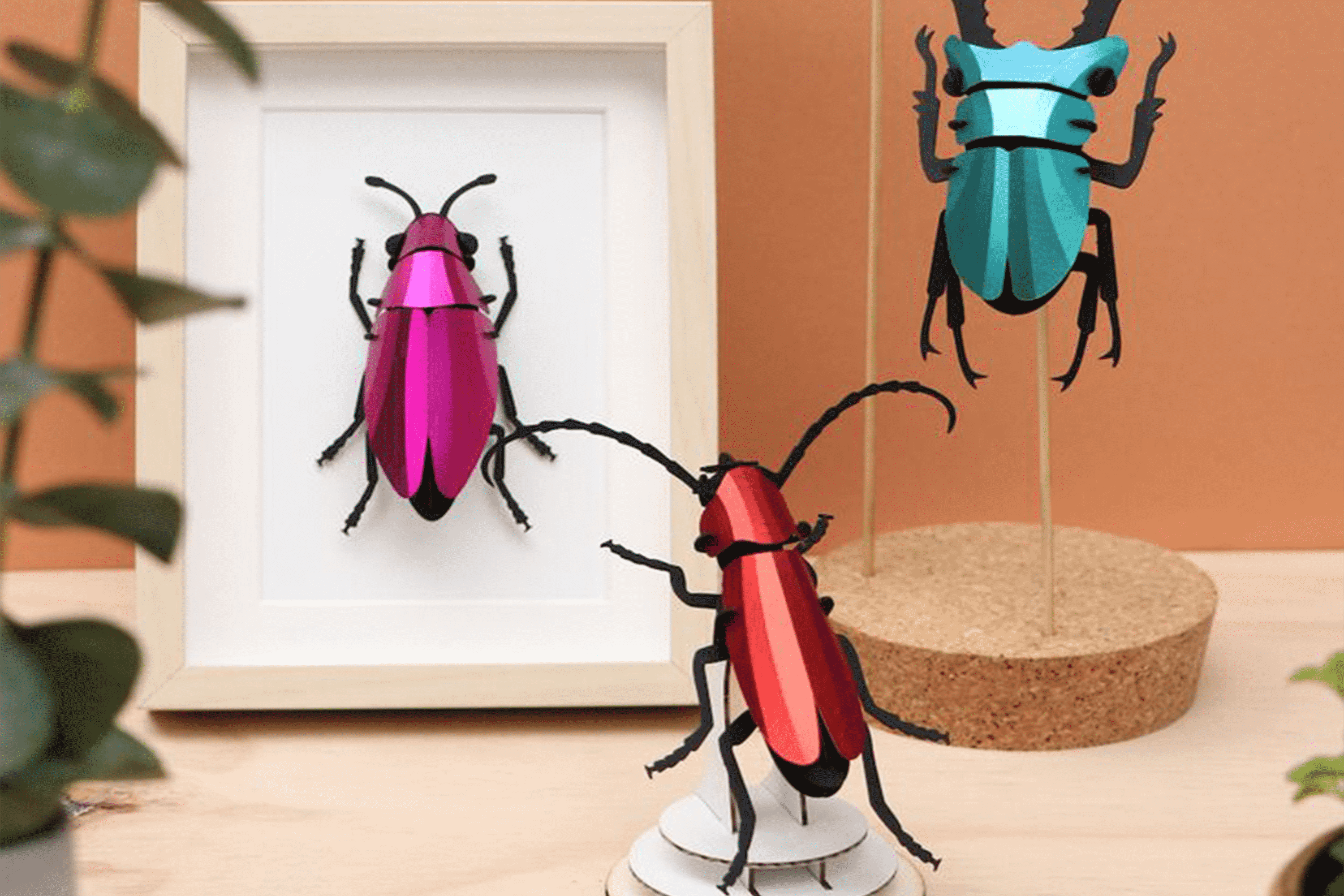 3d insects